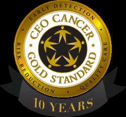 Gold Standard Ten Year Logo