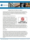 Adopting Tobacco-free Policies on Campus